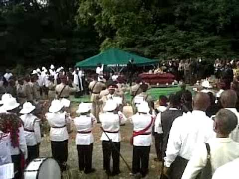 Barbados Police Officer funeral 3