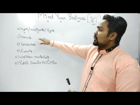 #36, Public Relation:- Concept And Explaination (Mind Your Own Business)
