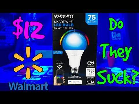 $12 Smart Wi-Fi LED Bulbs From Walmart - Do They Suck?
