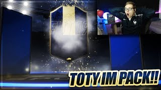 FIFA 19: TOTY IM PACK!! ENDLICH TOTY GEZOGEN IM PACK OPENING 🔥🔥 FIFA 19 Ultimate Team of the year