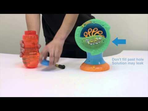 Blitz Bubble Fantasia Machine And Blitz Light Up Bubble Blaster