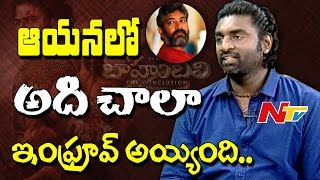 #Baahubali2 DOP Senthil Kumar about SS Rajamouli's Vision || Exclusive Interview || NTV