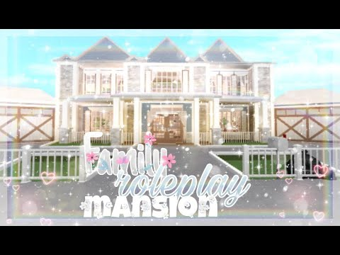 Bloxburg Family Roleplay Mansion Youtube