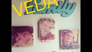 Veda Day 21......mod Podge Wood Picture Transfer (another Pinterest Diy)