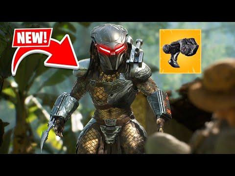 New PREDATOR BOSS UPDATE in Fortnite! (New Mythic Weapons)
