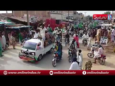 Tando Allahyar: GDA Leader Khair Muhammad Khokhar show its political power