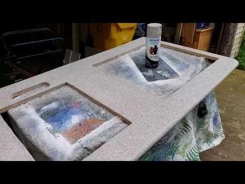 Aliner Makeover and Repairs: Custom Countertops 6/2/18
