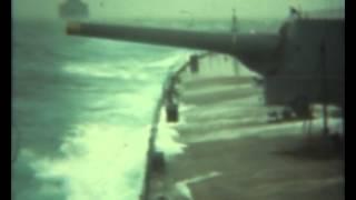 Rare colour film of HMS Hood