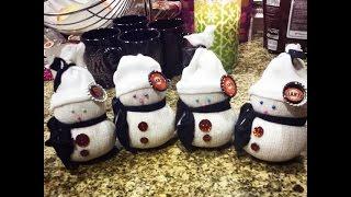Jus4sweetz Easy Scented Sock Snowman
