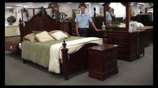 Classique Cherry Bedroom Set By Acme Furniture