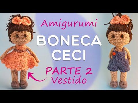 Pin de Solange Cristiane em amigurumi | Padrão de boneca de crochê ... | 360x480