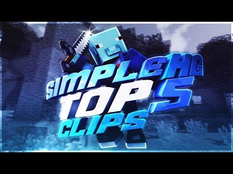 Top 5 Clips #25 - SimpleHG.com