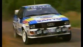 Audi Quattro Group B || Stig Blomqvist On the Limit - Swedish HillClimb 1983