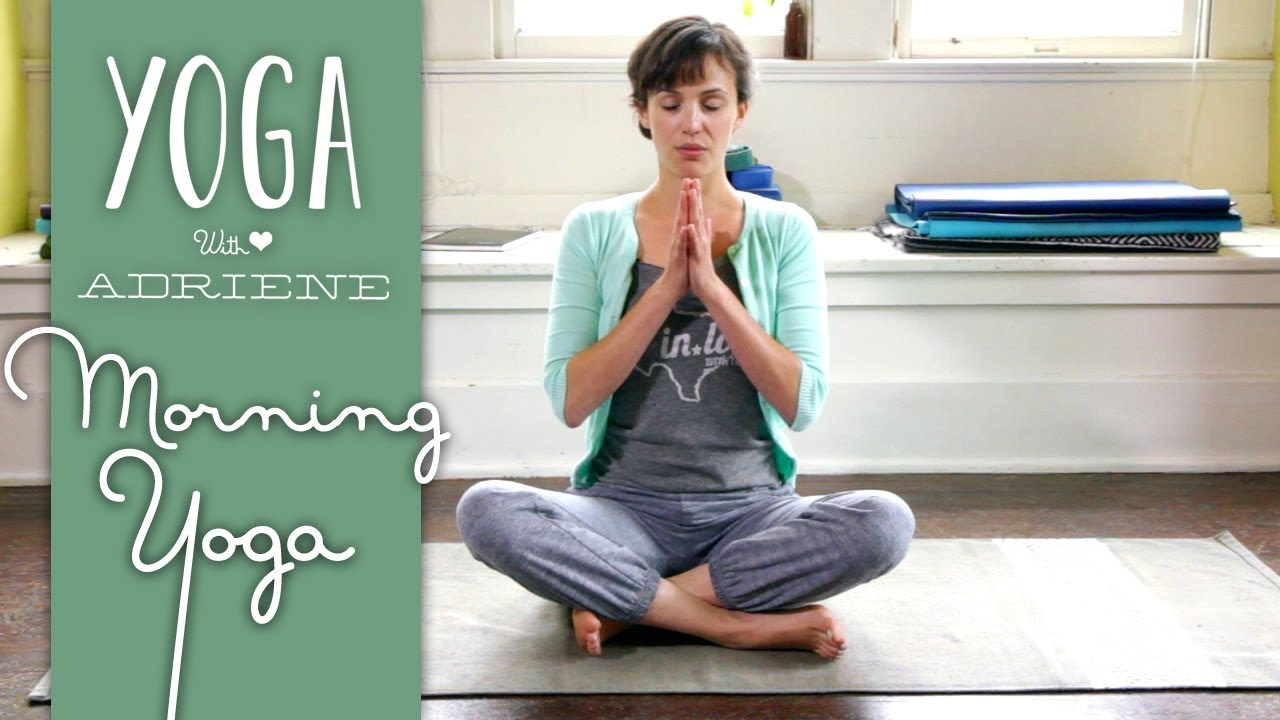 Morning Yoga for Beginners - Gentle Morning Yoga - Yoga With Adriene