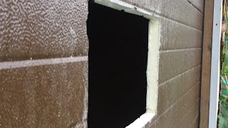 Врезаем окно в секционные ворота(, 2016-07-04T14:13:09.000Z)