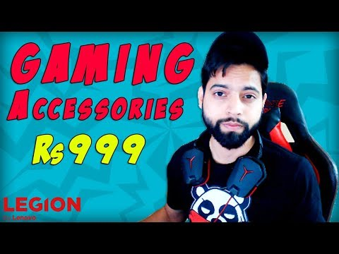 How To Get Legion Gaming Accessories For Rs 999 With All New Legion Y Gaming Laptops