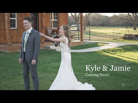 Kyle & Jamie, The Orchard in Azle, TX (The First Look) Teaser
