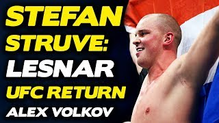Stefan Struve: Brock Lesnar Returning Against Jones Would Be