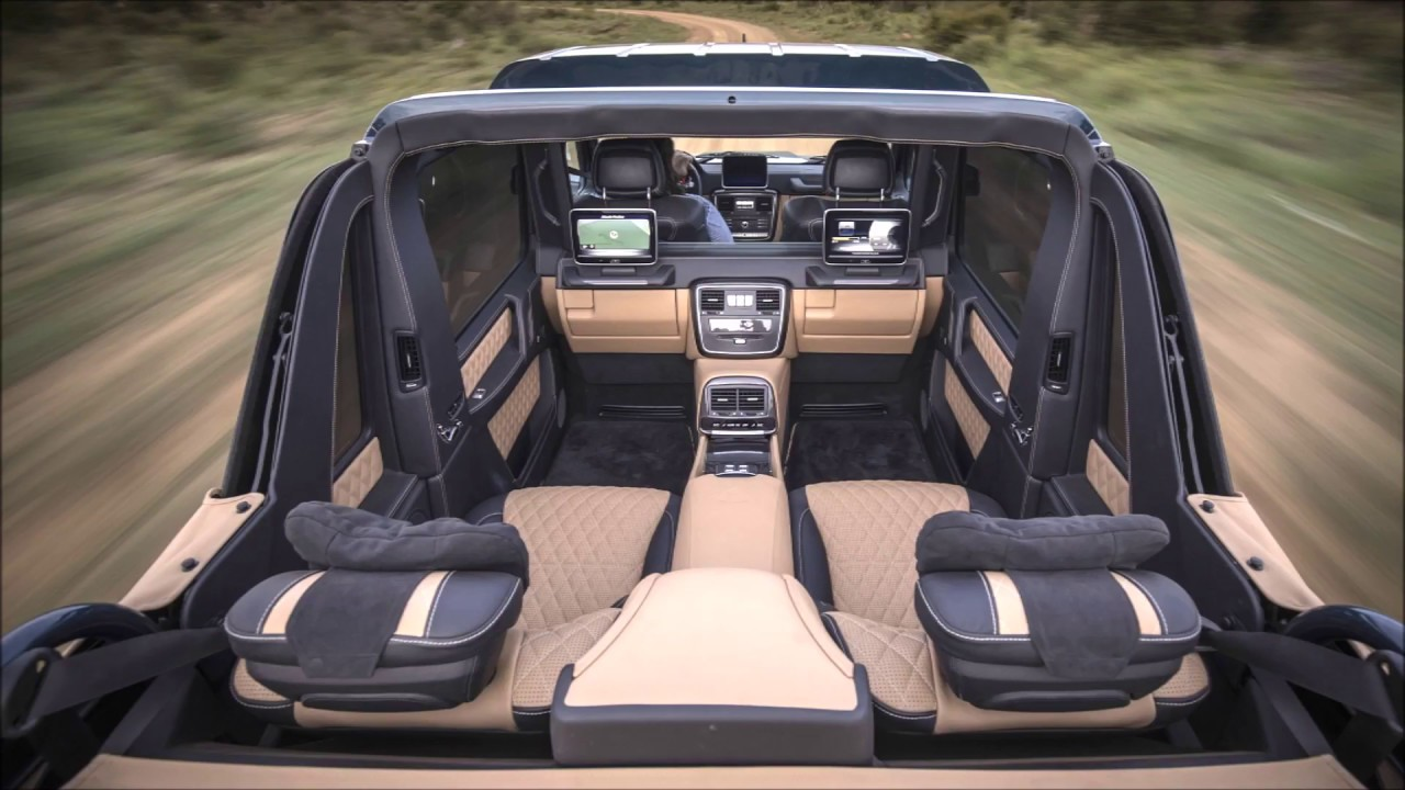 2017 mercedes maybach g650 interior