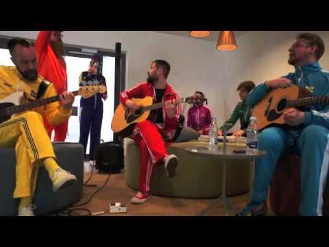 Pollapönk - Girls and Boys - jaming at ESC Copenhagen