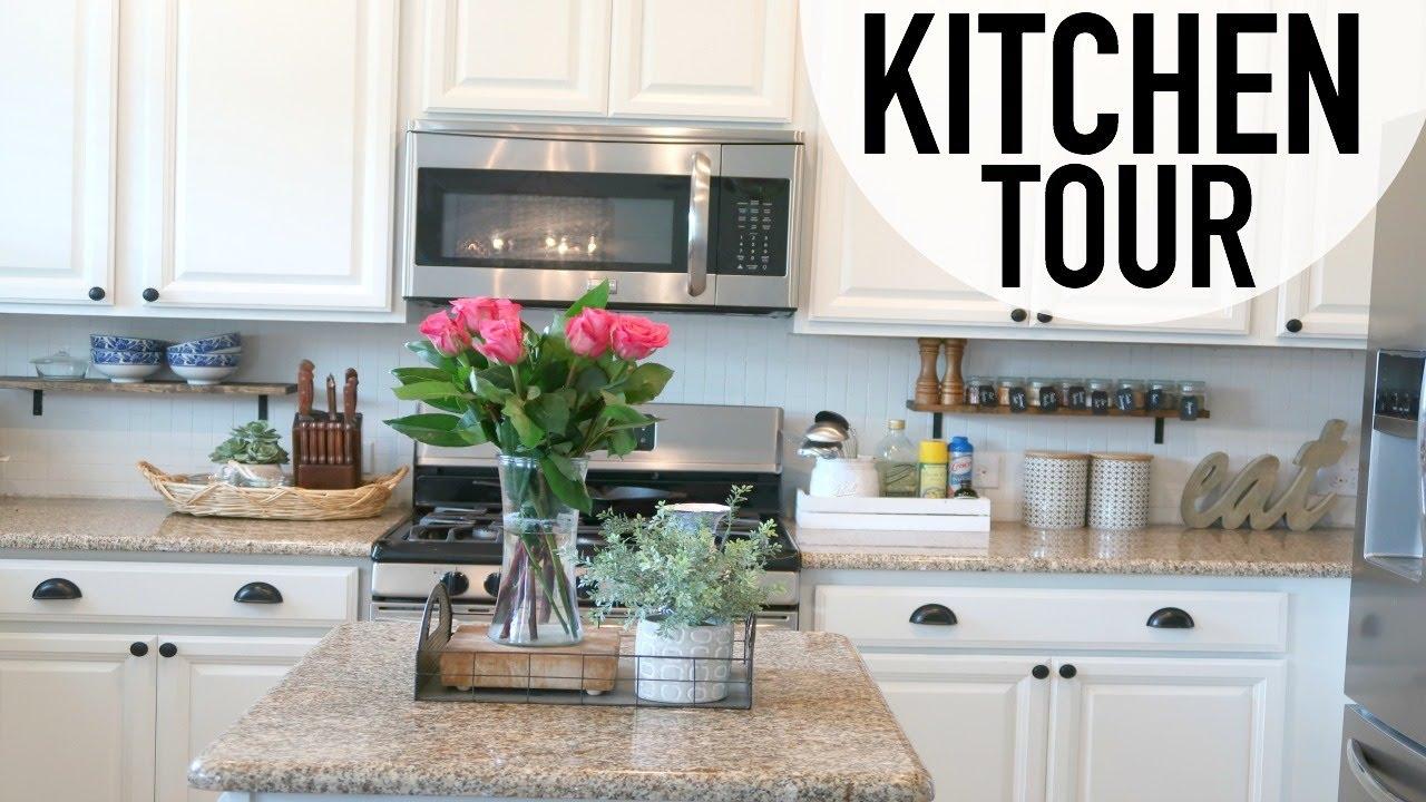 House Tour Kitchen Rustic Chic Decor Ideas