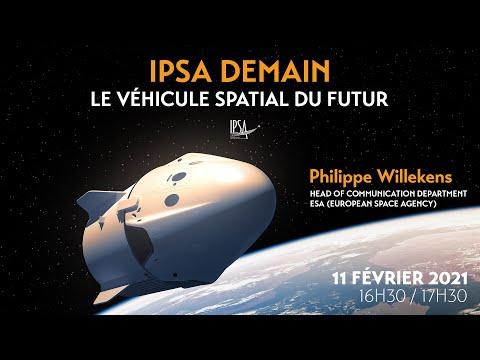 Le véhicule spatial du futur | Philippe Willekens | Conférence