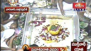Kashi Vishwanath Maha Shivaratri Abhishekam - Live Visuals