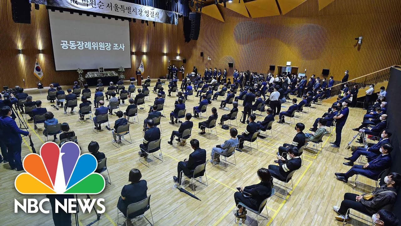 Funeral For Seoul Mayor Held Amid Coronavirus Precautions | NBC News NOW