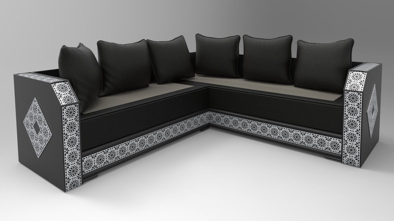 3D SPEED ART - Modern Sederi - Moroccan sofa - Salon marocain