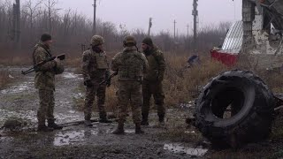 In Ukraine's Donbas region, war rumbles on