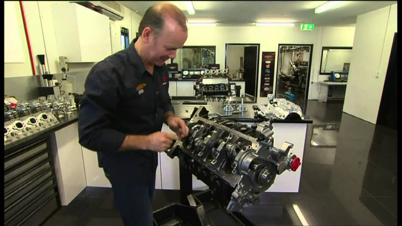 V8 Supercar Engine Build With Mark Larkham Youtube