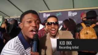 DC Young Fly At The 2015 BET HIP HOP AWARDS GREEN CARPET