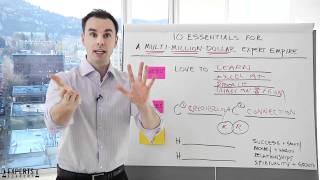 Experts Academy 10 Essentials w Brendon Burchard