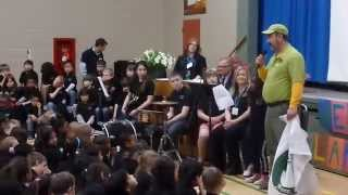 2014 Arbor Day Flag Presentation