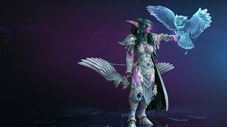 Heroes of the Storm- Tyrande- The Support That Makes Tanks Melt