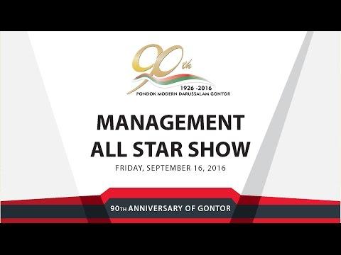 Management All Star Show - Management Campus, Mantingan - University of Darussalam Gontor