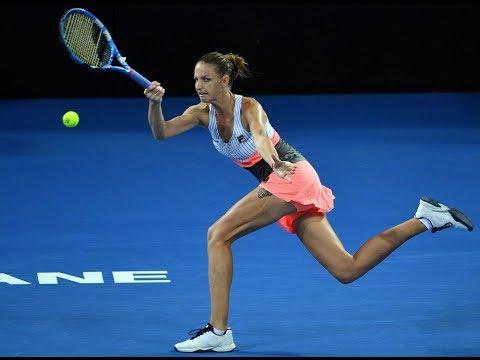2018 Brisbane International Quarterfinal | Karolina Pliskova vs Kaia Kanepi | WTA Highlights