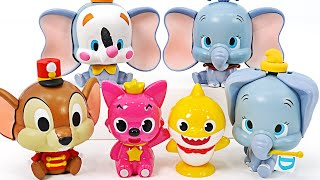 baby shark and Pinkfong~ Assemble the cute elephant Dumbo~!