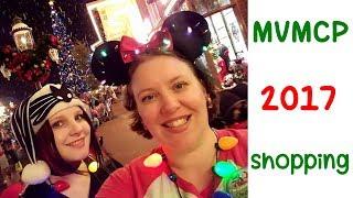 Shopping at Mickey's Christmas Party ~ Magic Kingdom ~ MVMCP 2017