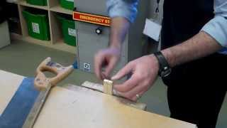 Maze Game 002 Cutting Halving Joint
