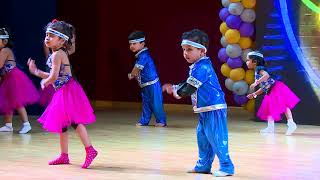 Kids Castle Narayanpura - Annual Day 2018--Disco Deewane-Nursery