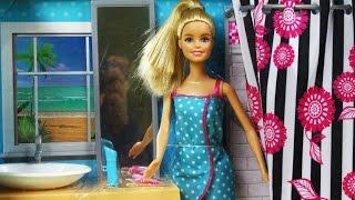 Barbie Doll And Bathroom Furniture Set / Barbie Łazienka Z Lalką - Mattel - Megadyskont.pl