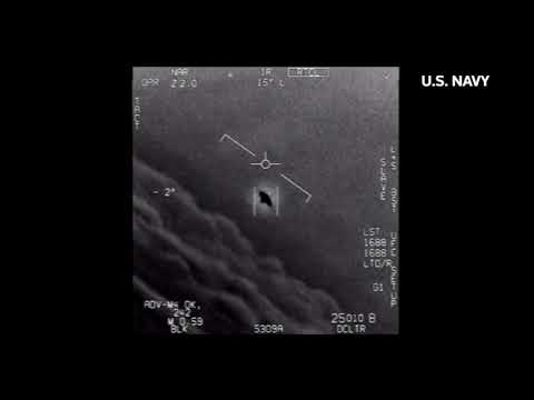 Pentagon releases videos showing 'unidentified aerial phenomena'