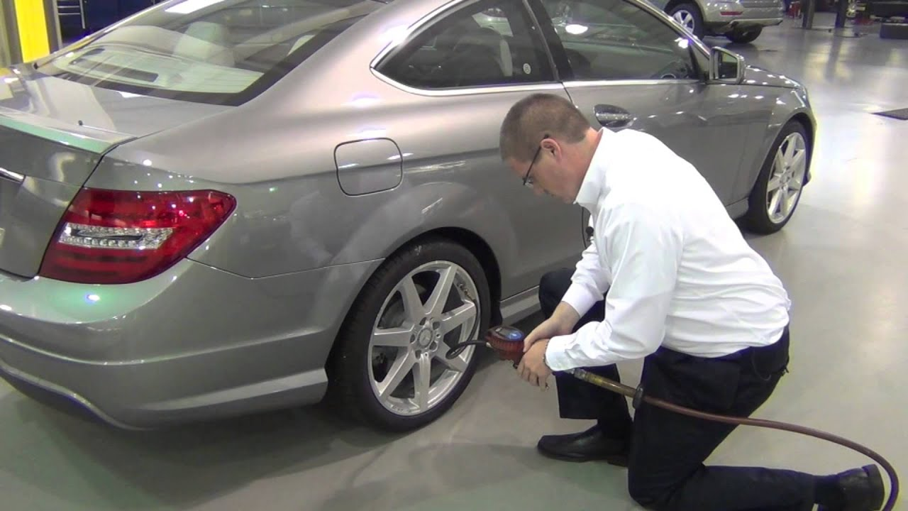 Mercedes benz of cary tire pressure monitoring video for Mercedes benz road side assistance