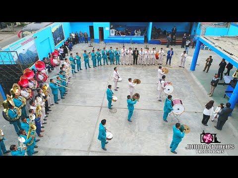 BANDA SAN LORENZO DE MARCA Y BRASS PERÚ JUNTOS - FESTIVIDAD EN HONOR A SAN PEDRO DE COPA 2018
