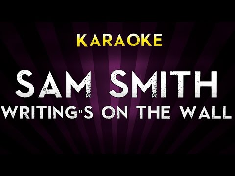 Sam Smith - Writing's On The Wall | HIGHER Key Karaoke Version Lyrics Cover James Bond 007 Spectre