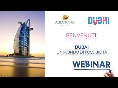 DUBAI, un mondo di possibilità… -  Webinar del 23 Ottobre