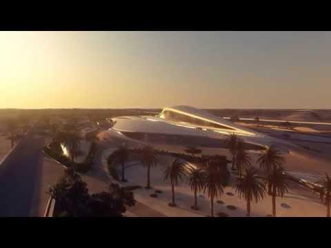 Bee'ah headquarters in UAE by Zaha Hadid Architects