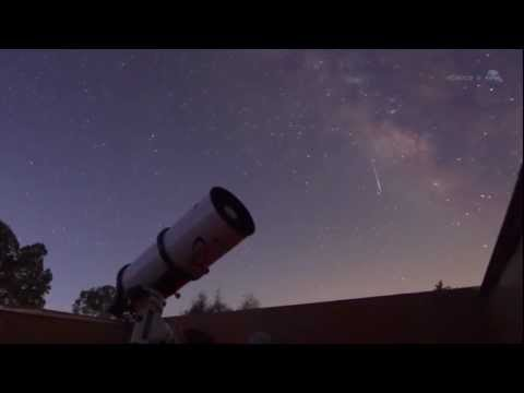 October Orionids Meteor Shower From Halley's Comet | NASA Space Science Skywatching HD