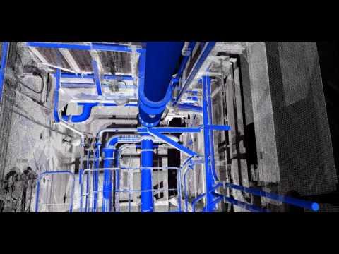 Oil/Chemical Tanker Pump Room 3D Scan